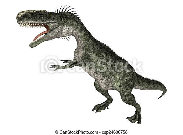 Dinosaur Monolophosaurus - csp24606758