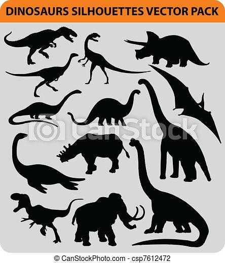 dinosaur pack - csp7612472