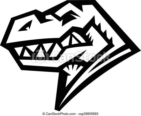 Dinosaur T-Rex - csp39805893