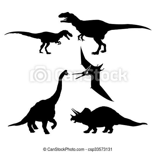 Dinossauro Desenho Icone 10 Conceito Graphic Pre Historico