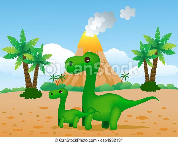 dinozaury - csp4932131