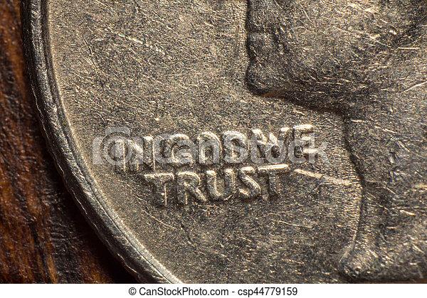dio, noi, fiducia - csp44779159