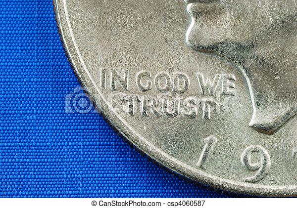 dio, noi, fiducia - csp4060587