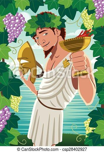 Dionysus - csp28402927
