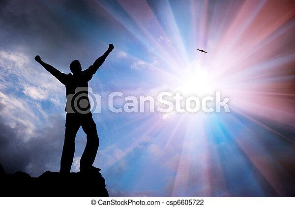 Adoración a Dios - csp6605722