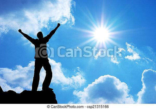 dios, adoración - csp21315166