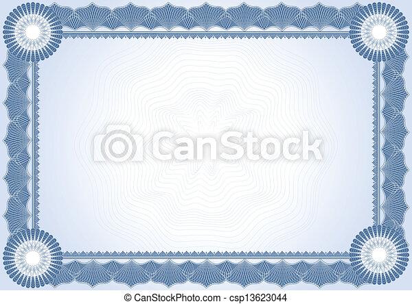 diplôme, certificat - csp13623044