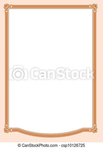Diploma frame - csp10126725