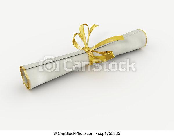 Diploma - csp1755335