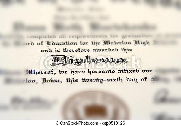 Diploma - csp0518126