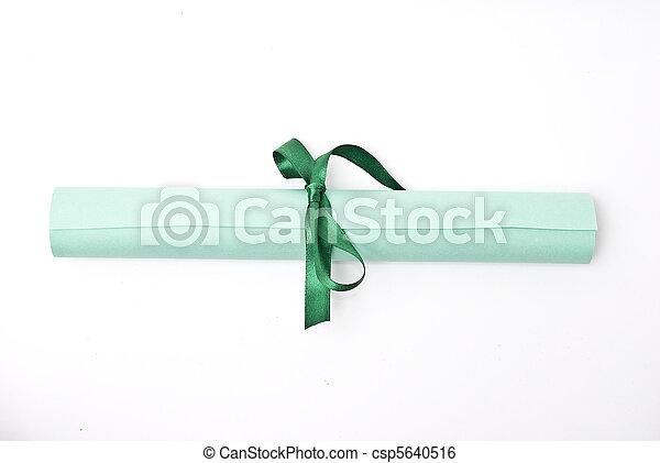 Diploma - csp5640516