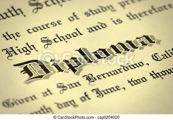 Diploma - csp0204020