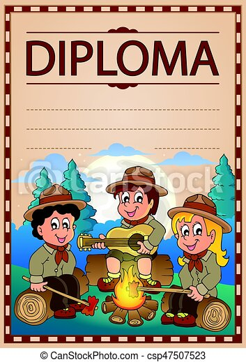 Diploma topic image 1 - csp47507523