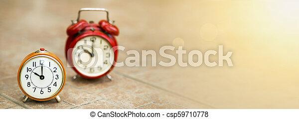 El concepto de gestión del tiempo - csp59710778