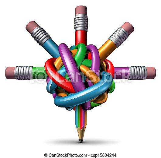 Gestión creativa - csp15804244