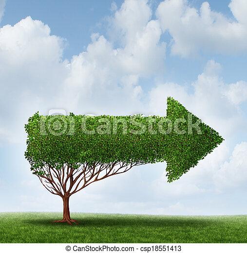 Guía de crecimiento - csp18551413