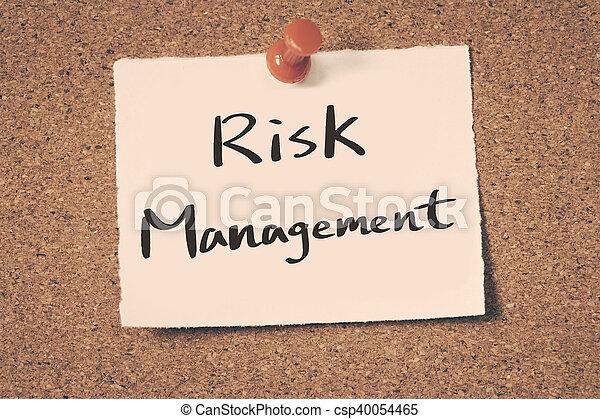 Control de riesgos - csp40054465