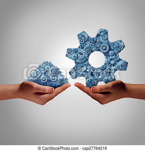 Gestión de tecnología - csp27764219