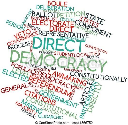 Direct democracy - csp11866752