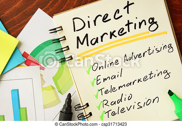 Direct marketing - csp31713423