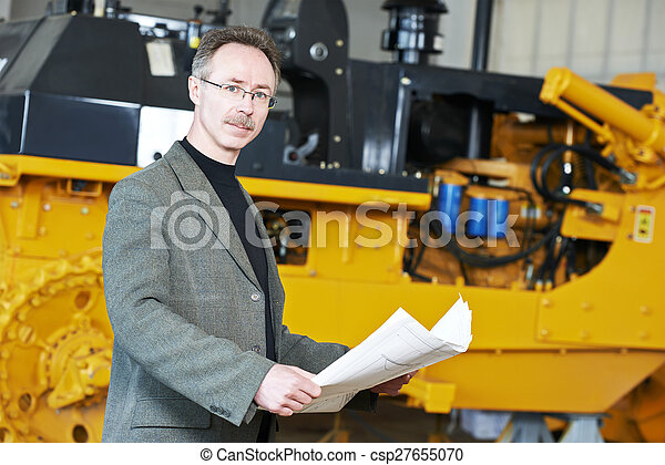 directeur, industriel, ingénieur - csp27655070