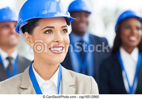 directeurs, construction, groupe - csp16512860