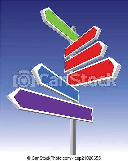directional oznakowanie - csp21020655