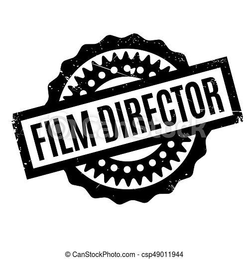 El sello del director de cine - csp49011944
