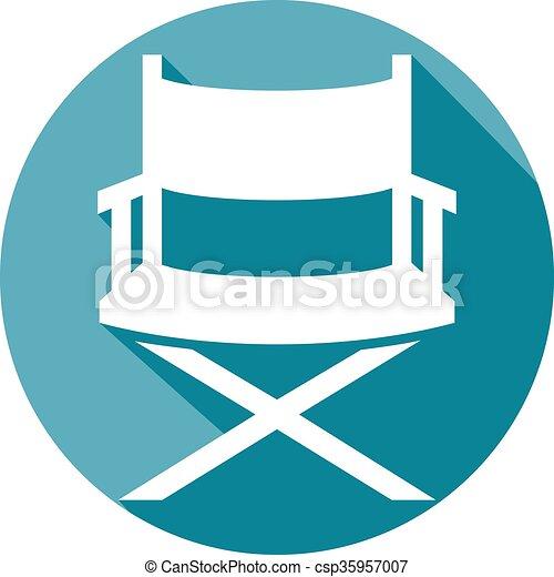 El icono del director - csp35957007