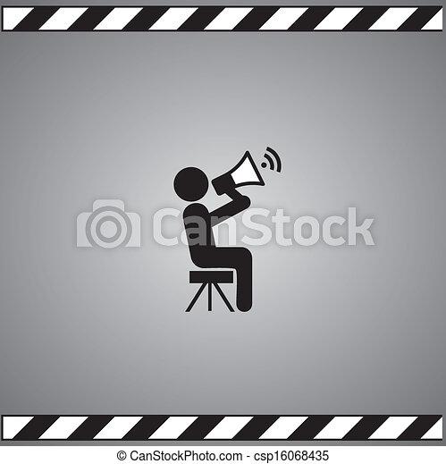 El símbolo de la película - csp16068435