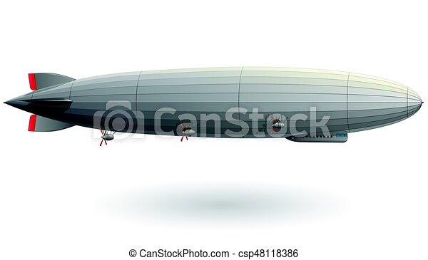 ballon dirigeable hydrogen