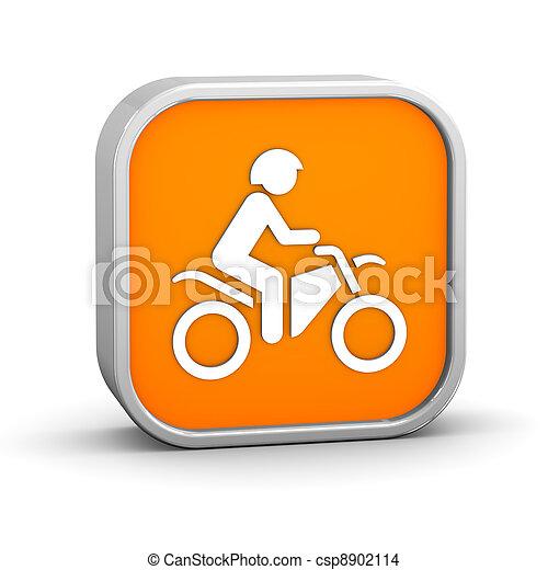 Dirt bike sign - csp8902114