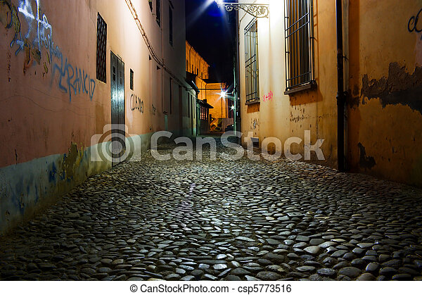 dirty alley - csp5773516