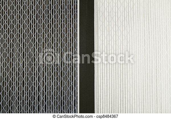 Clean Air Filter >> Dirty And Clean Air Filters