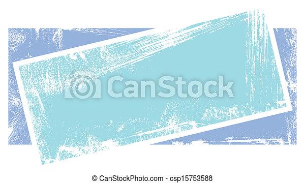 Dirty Grunge Banner Design - csp15753588
