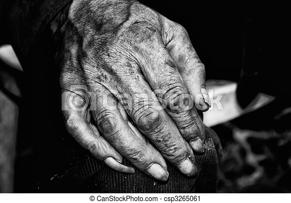 Dirty hand - csp3265061