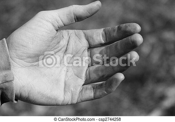 Dirty Hand - csp2744258