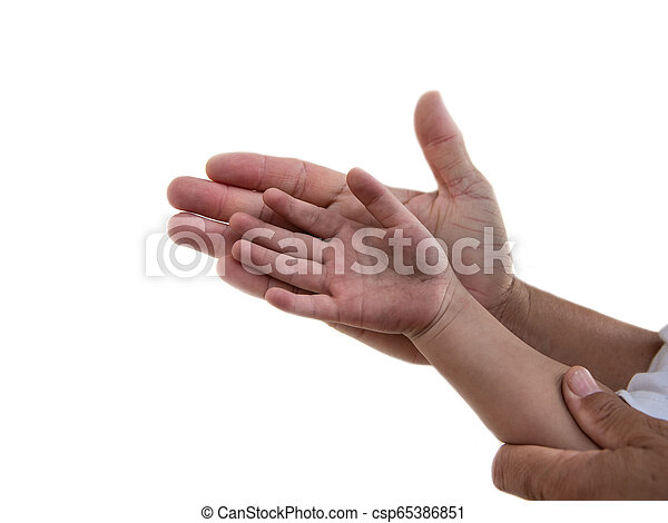 Dirty hand - csp65386851