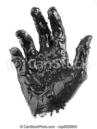 dirty hand - csp6925600