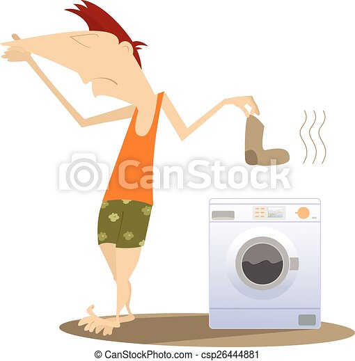 Dirty laundry - csp26444881