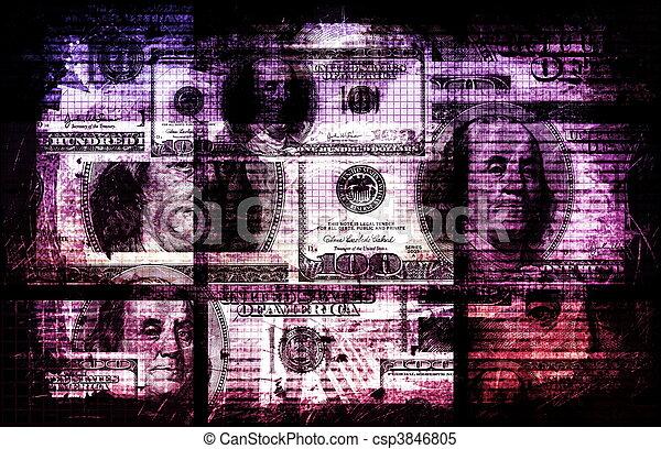 Dirty Money - csp3846805