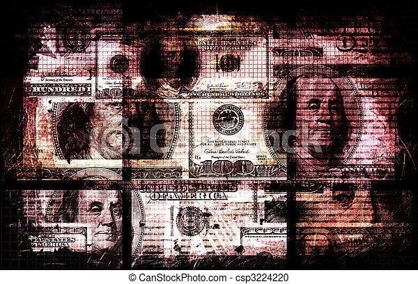 Dirty Money - csp3224220