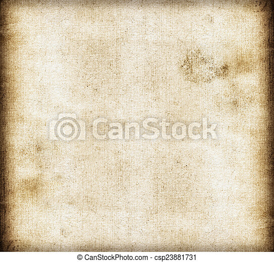 dirty old canvas paper background or texture