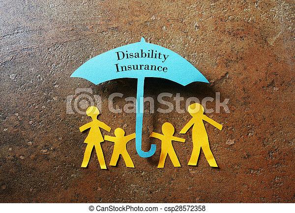 disability, страхование - csp28572358