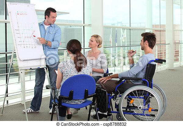 Disability at work - csp8788832