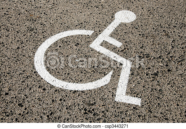 Disabled parking permit - csp3443271