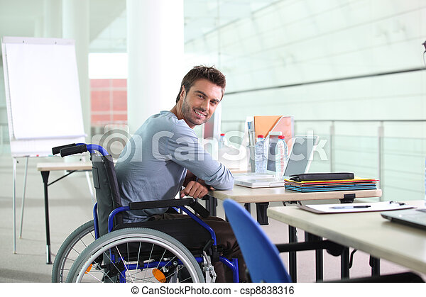 disabled worker - csp8838316