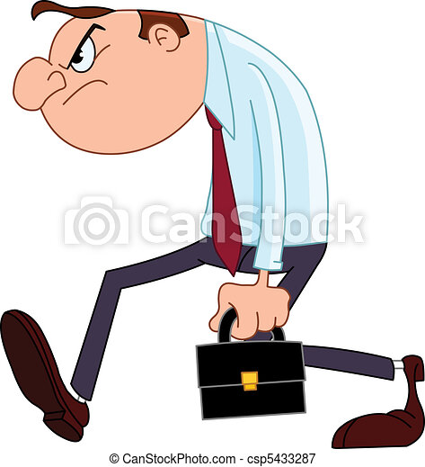 Disappointed businessman - csp5433287