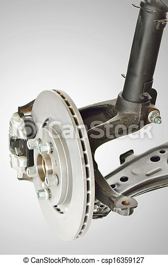 Disc Brake and Shock Assembly - csp16359127