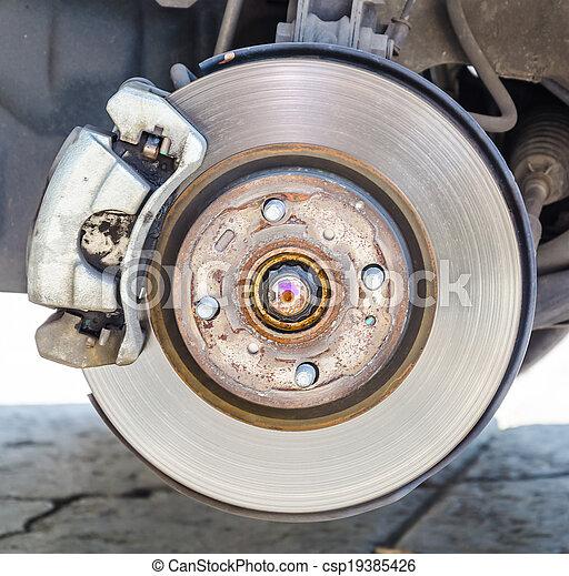 disc brakes - csp19385426